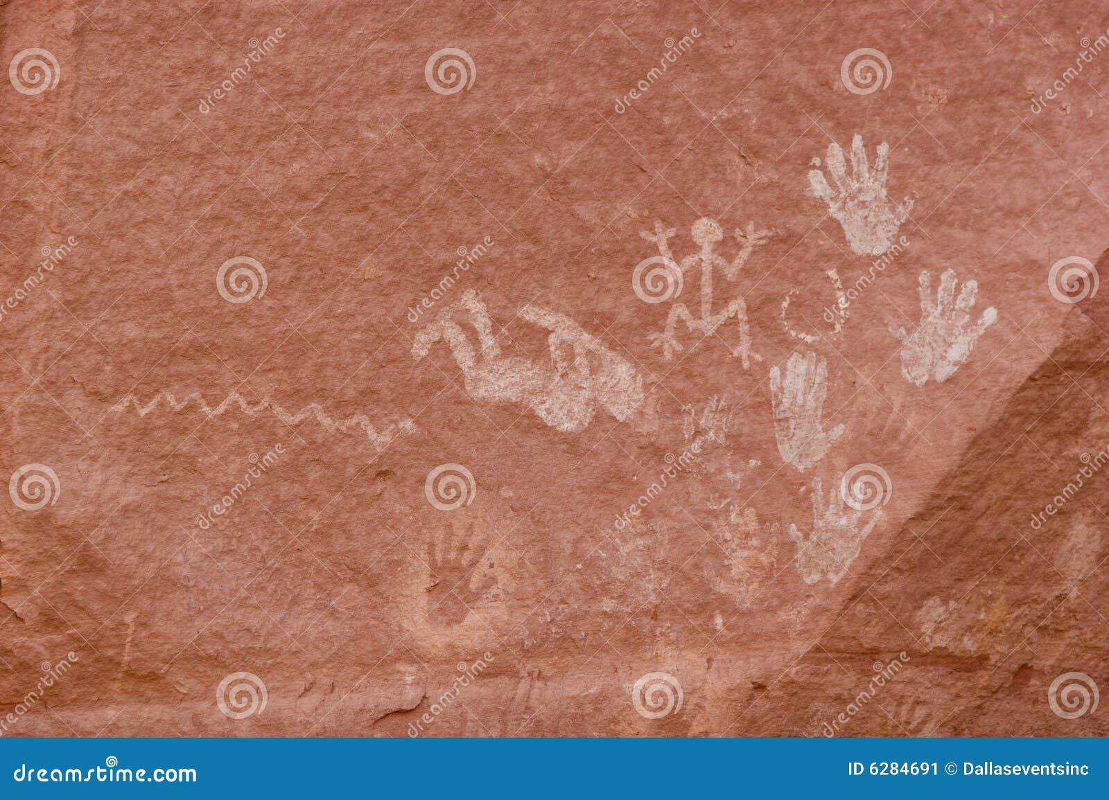 стены carvings каньона античной культуры