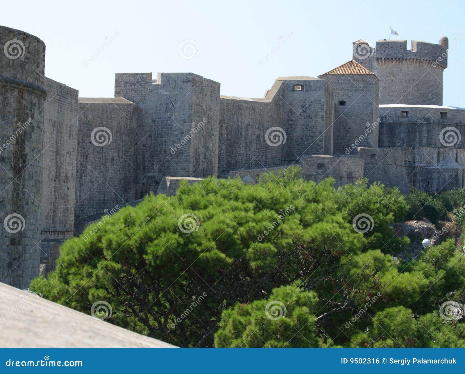 стены dubrovnik