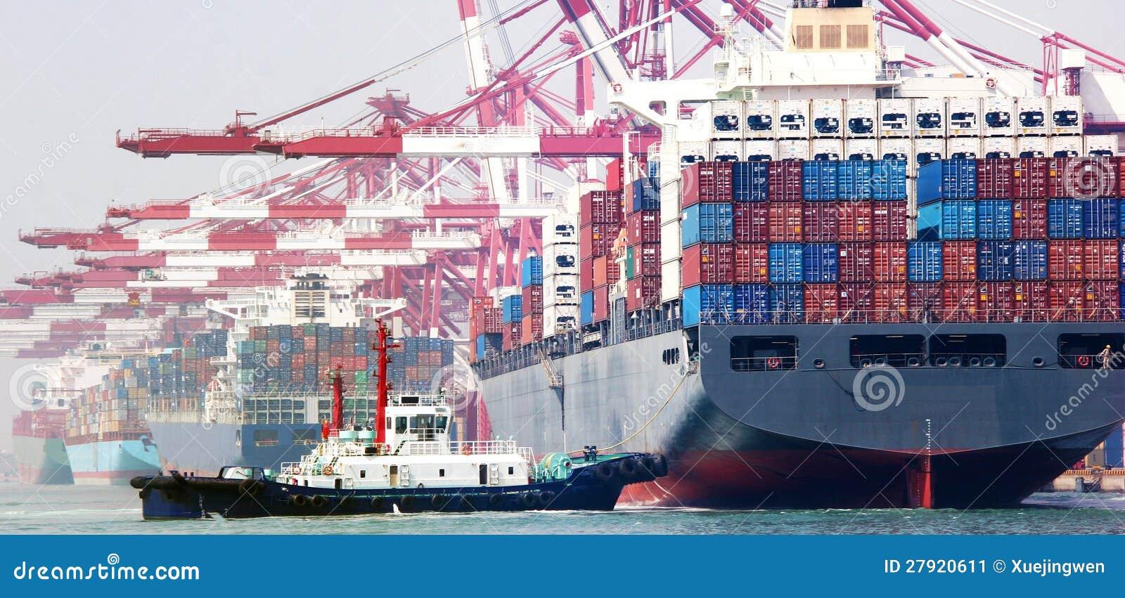 Стержень контейнера Китая Qingdao гаван