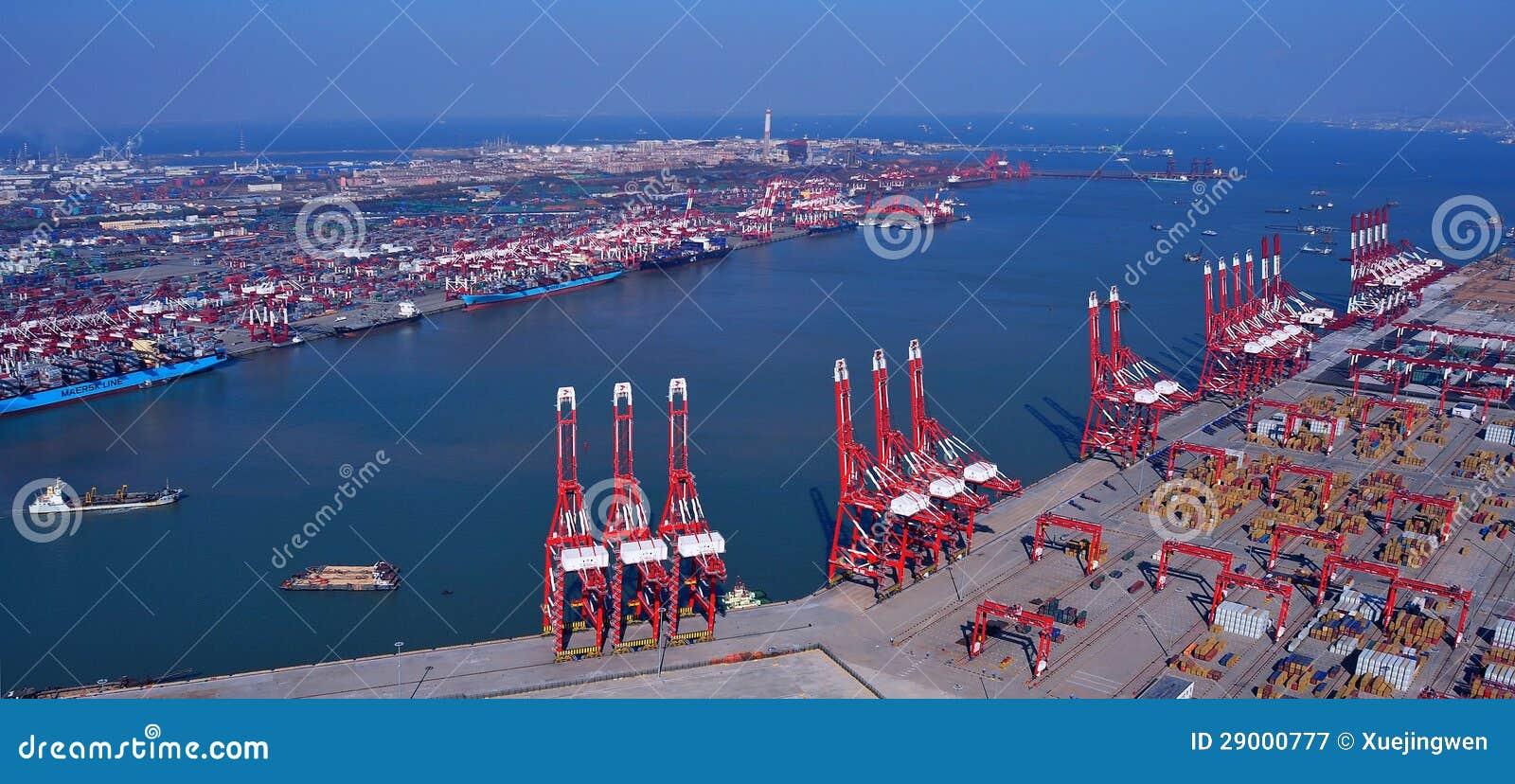 Стержень контейнера порта Китая Qingdao