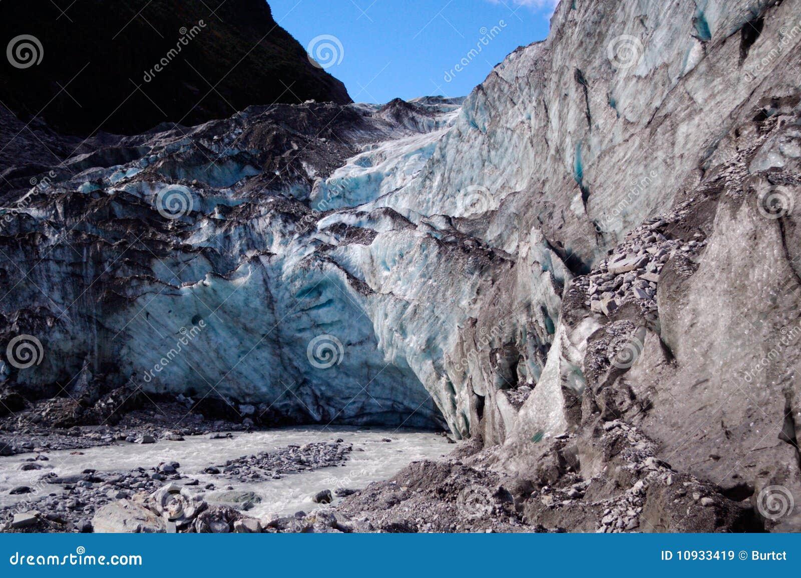 стержень ледника стороны