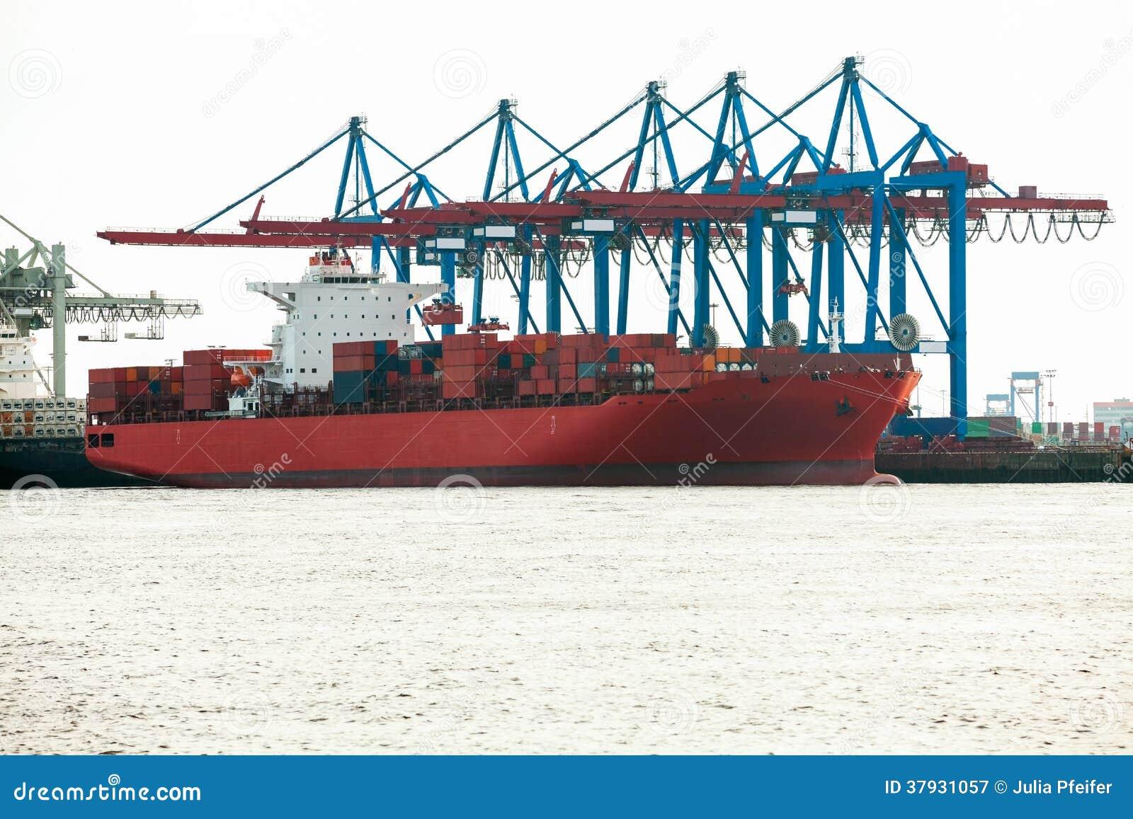 Стержень порта для нагружая и offloading кораблей