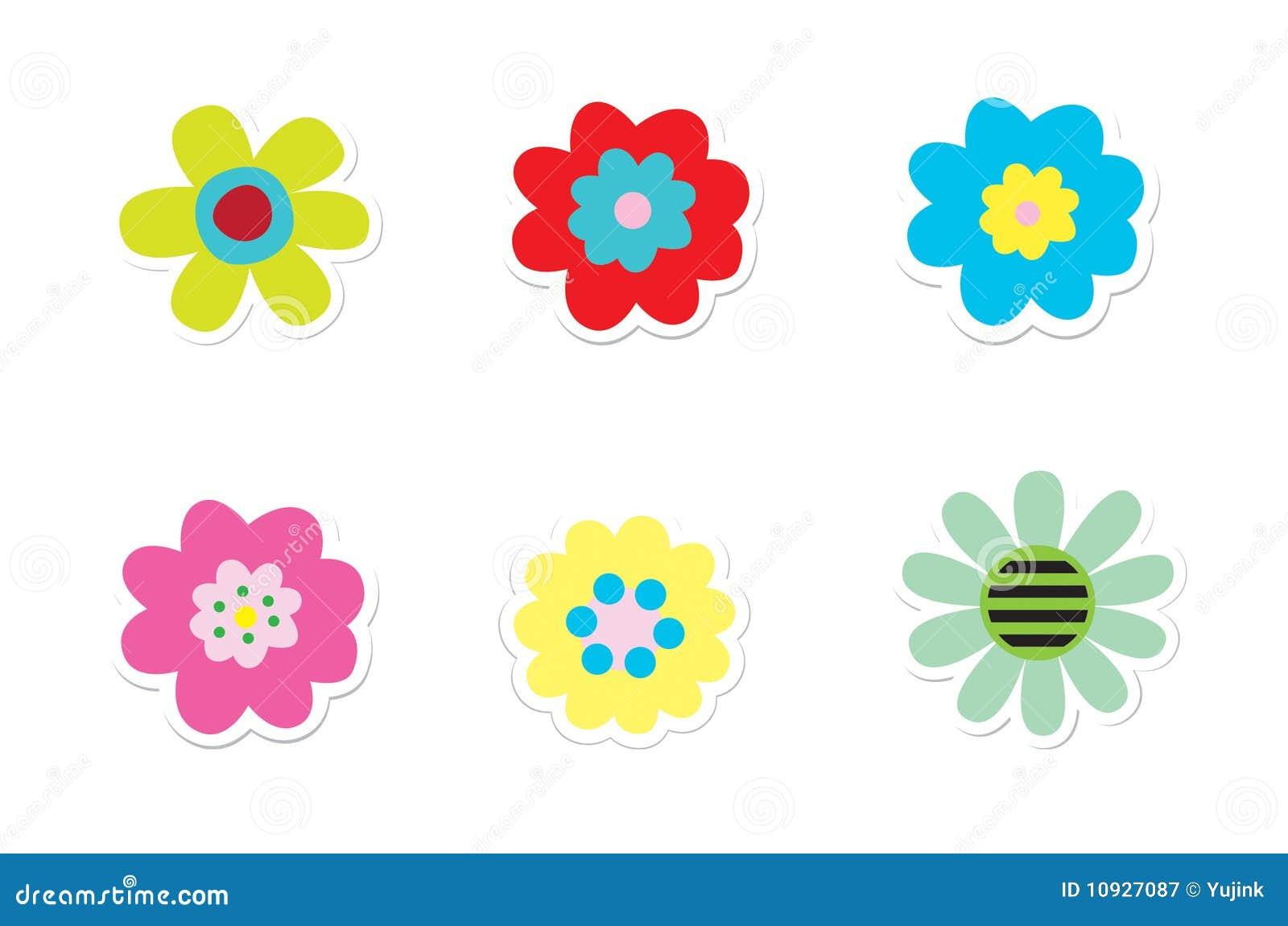 стикеры цветка
