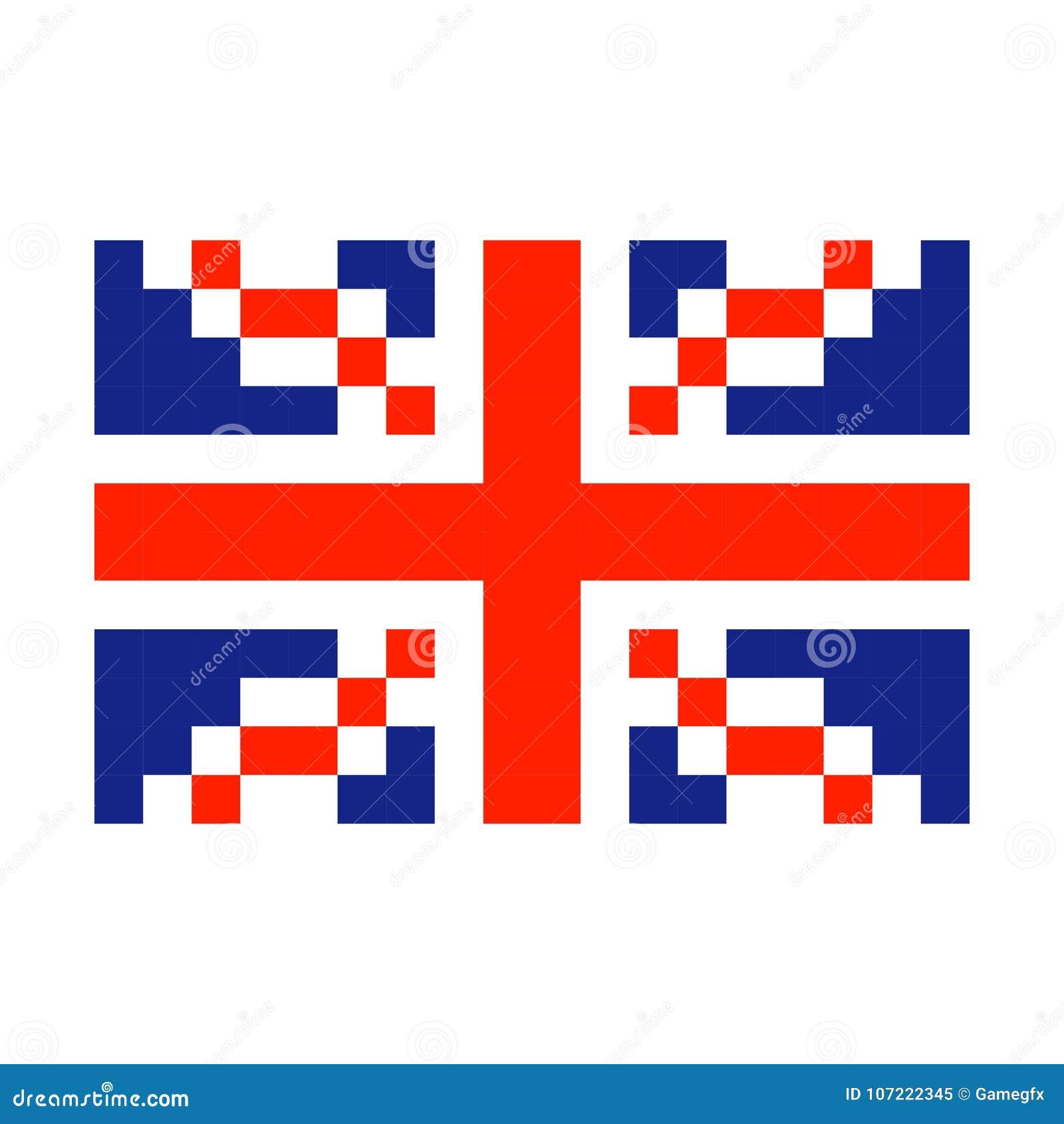Pixel Art Anglais