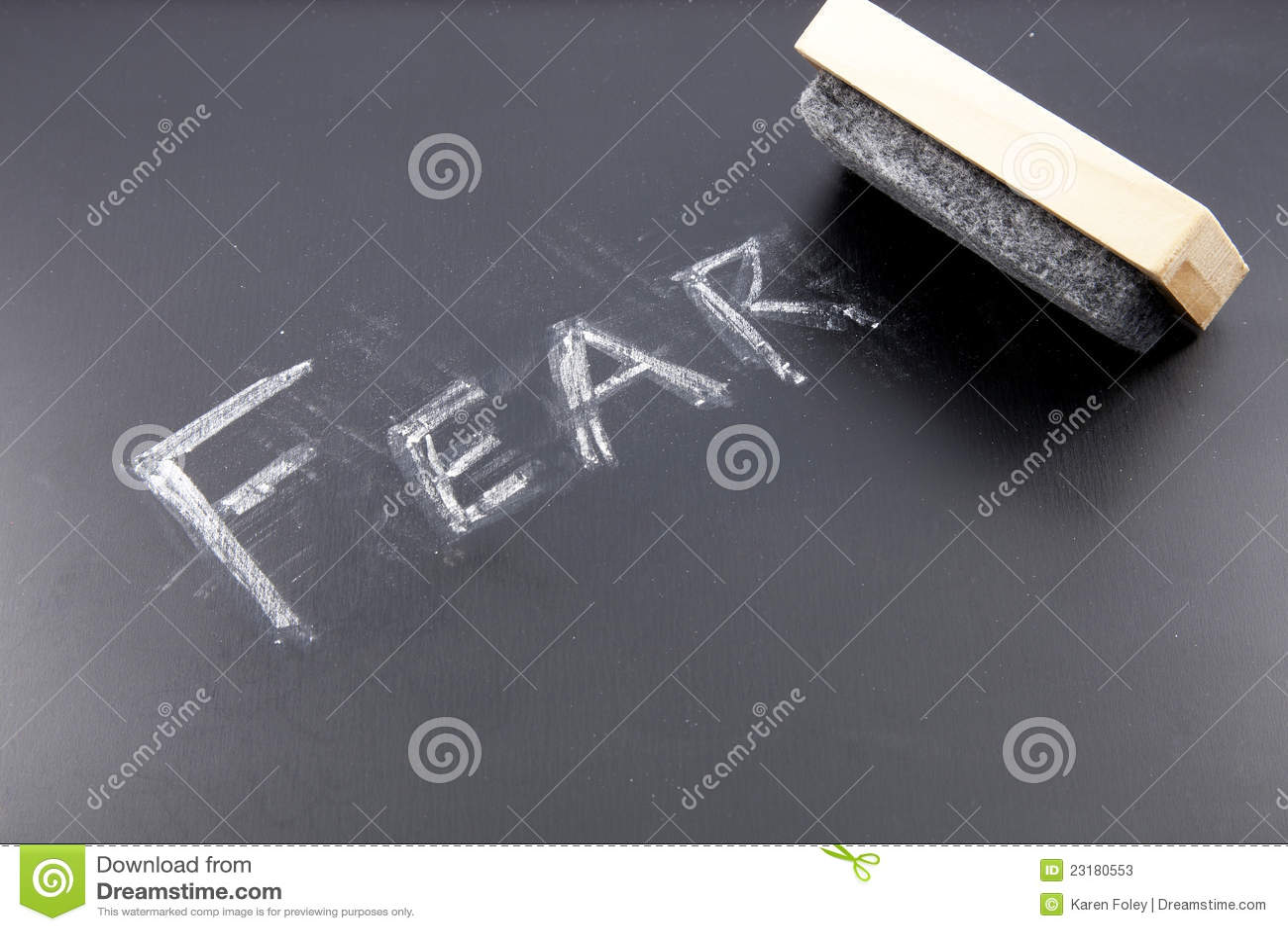 стирать страх
