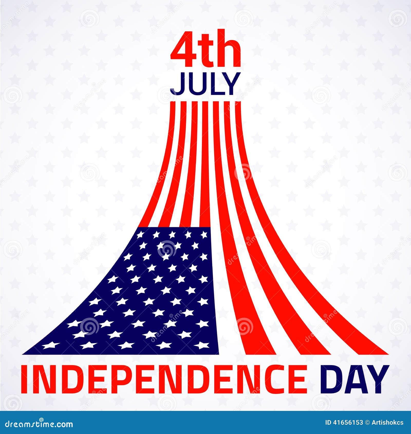 Стильный американский дизайн Дня независимости
