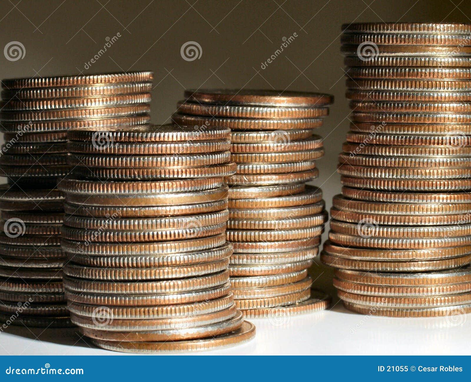стог монеток