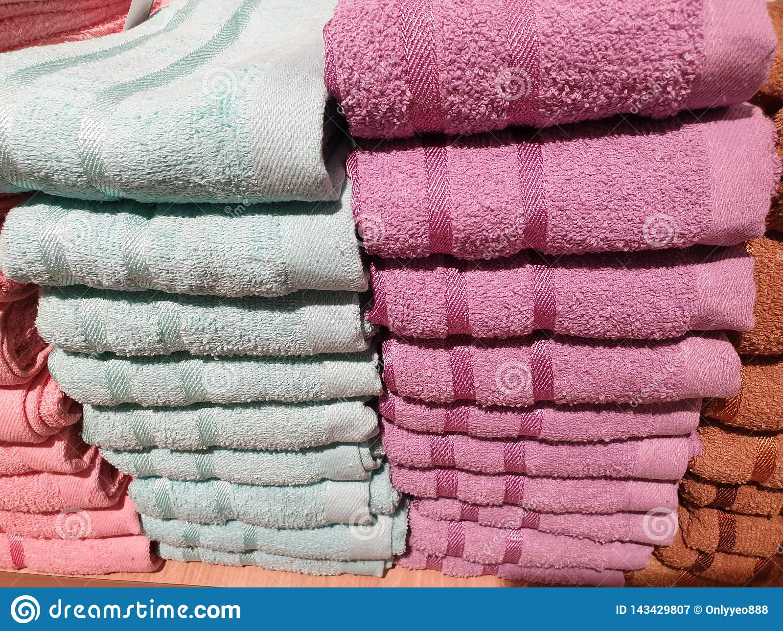 Стог полотенец