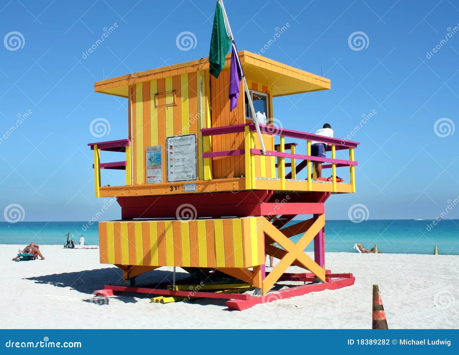 стойка личной охраны пляжа южная