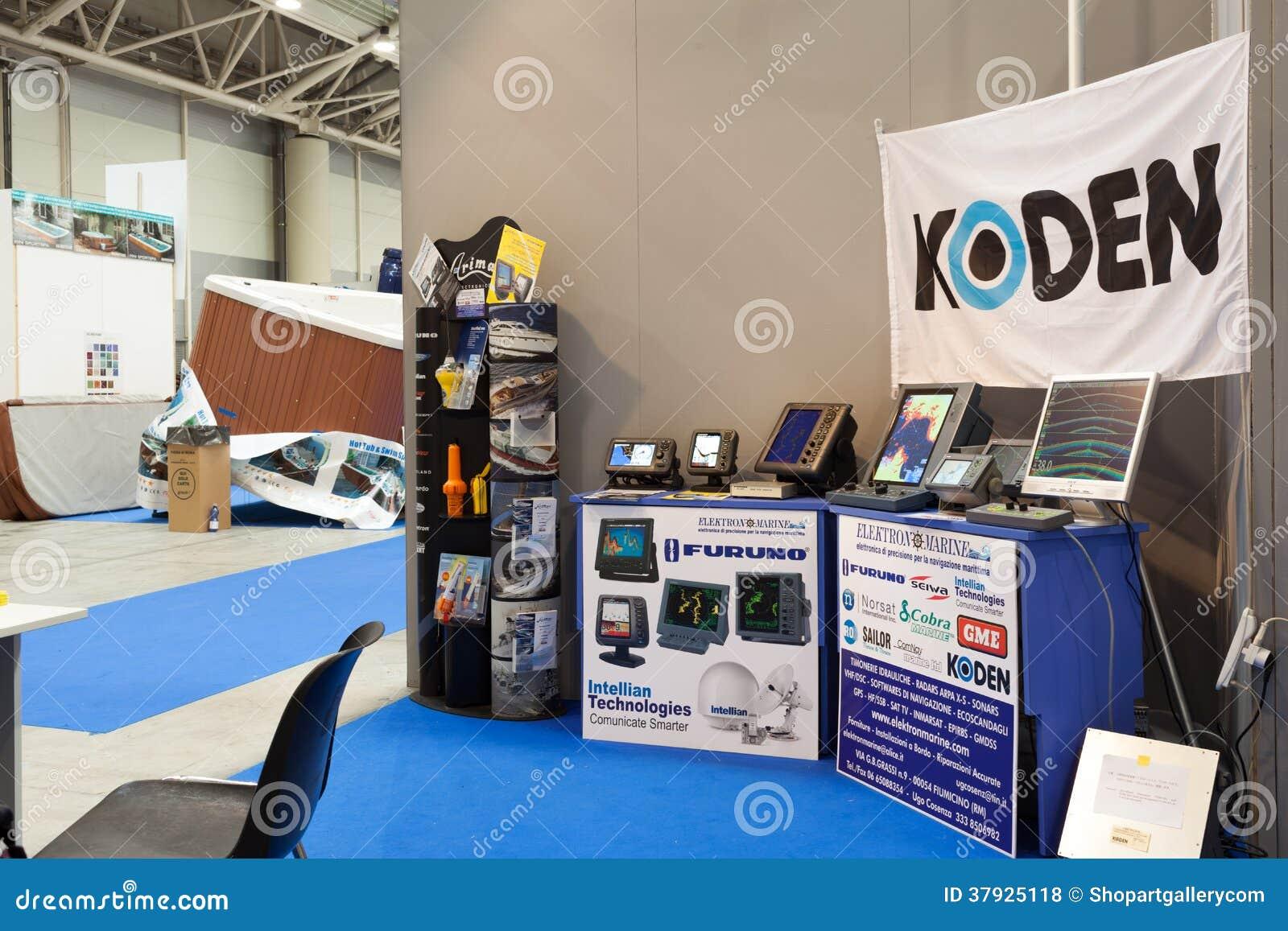 Стойка Koden на большом голубом экспо 2014