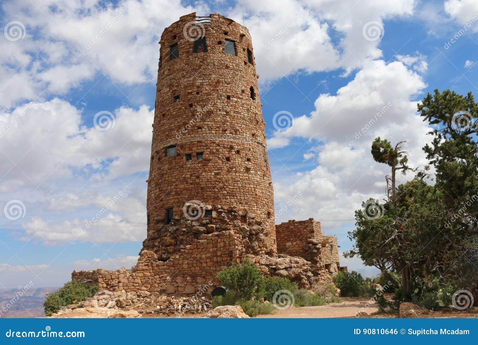 Сторожевая башня взгляда пустыни