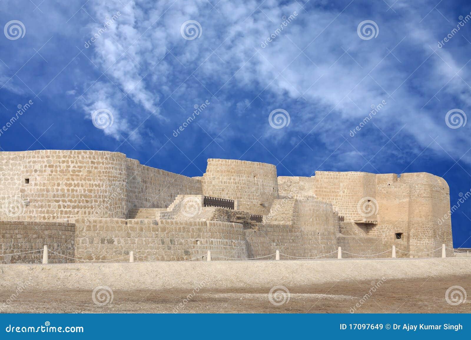 сторона форта Бахрейна северная