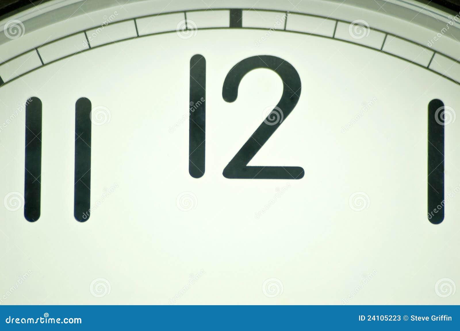 сторона часов