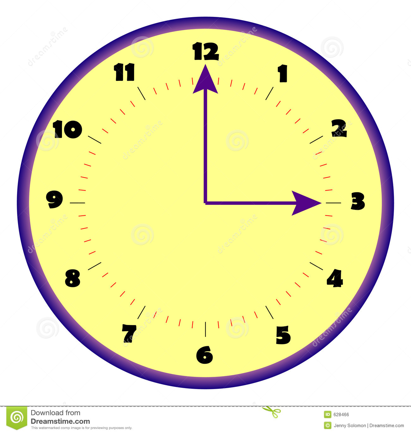 Download сторона часов иллюстрация вектора. иллюстрации насчитывающей ветер - 628466