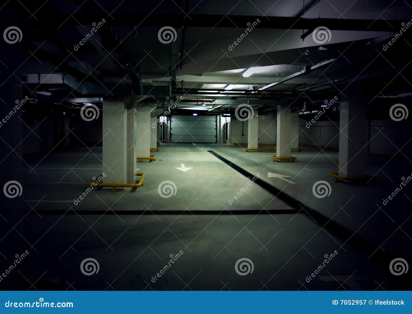 стоянка автомобилей гаража нутряная подземная