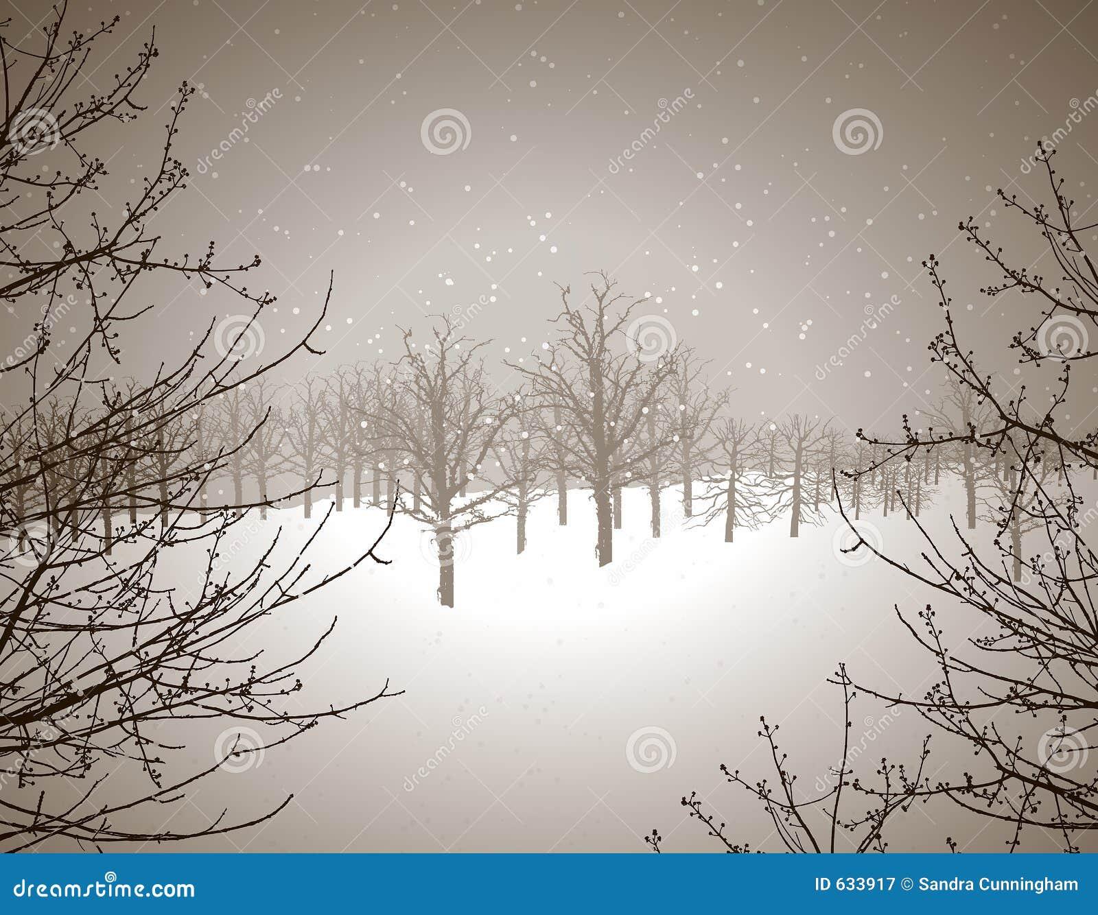 Download страна чудес зимы иллюстрация штока. иллюстрации насчитывающей холодно - 633917
