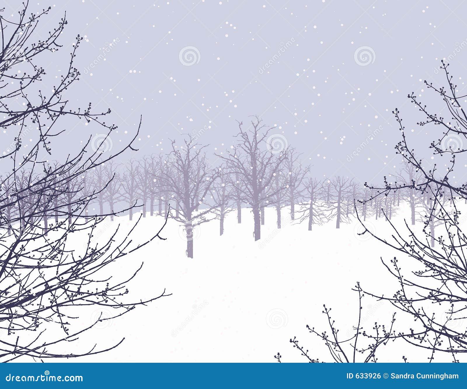 Download страна чудес зимы иллюстрация штока. иллюстрации насчитывающей холодно - 633926