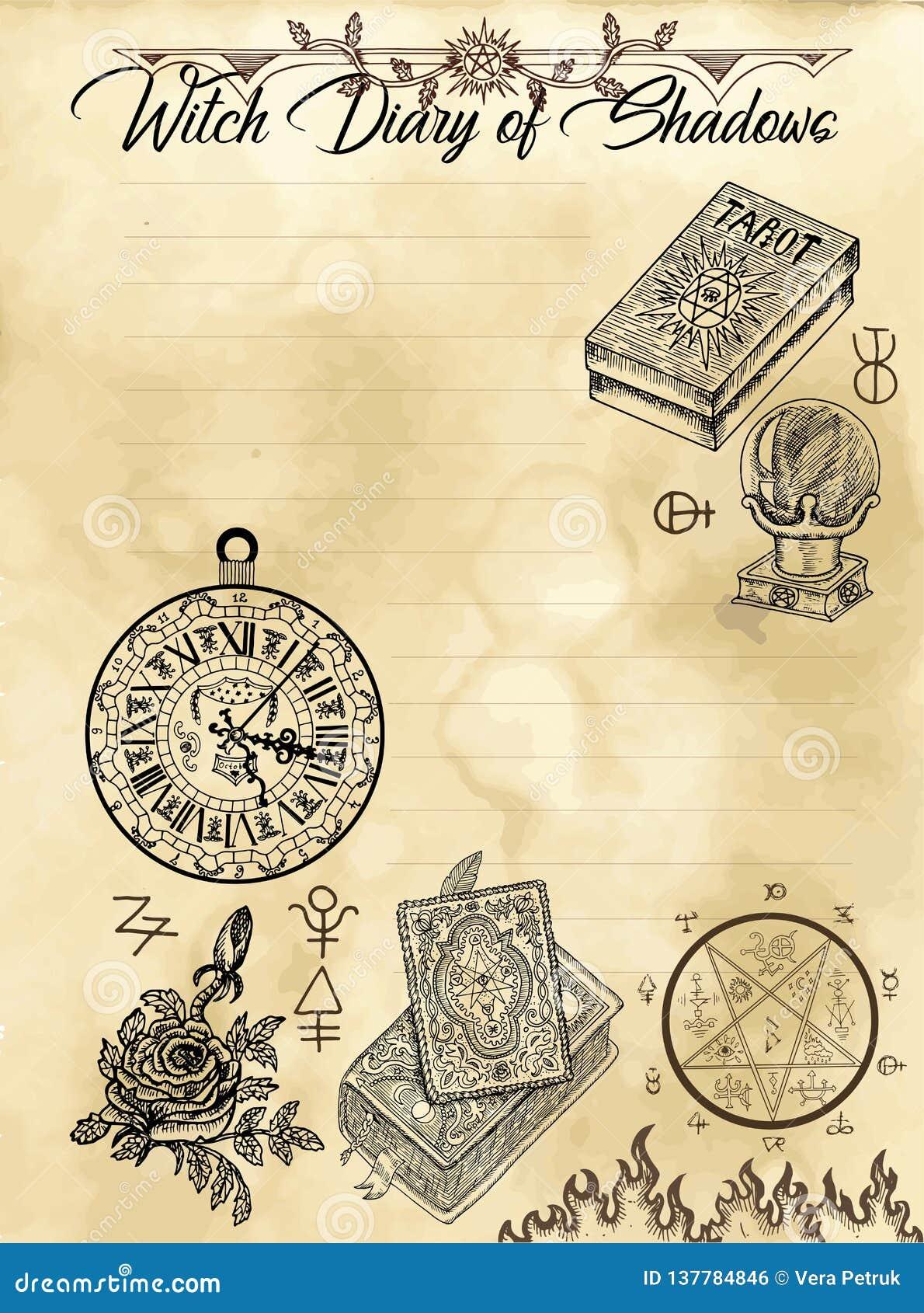 Страница 4 дневника ведьмы 31