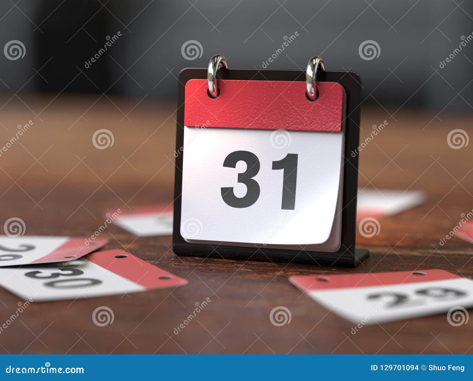 Страницы календаря, концепция времени