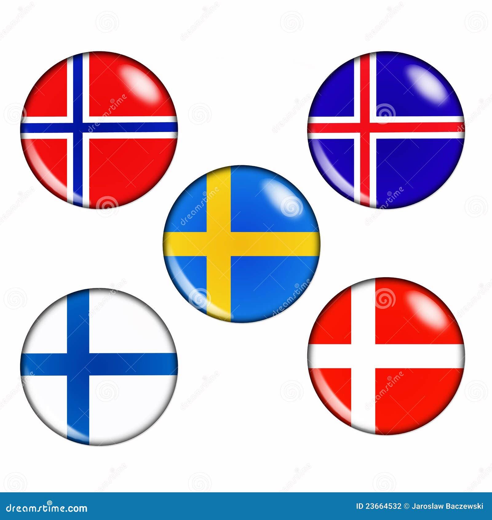 Страны скандинавские
