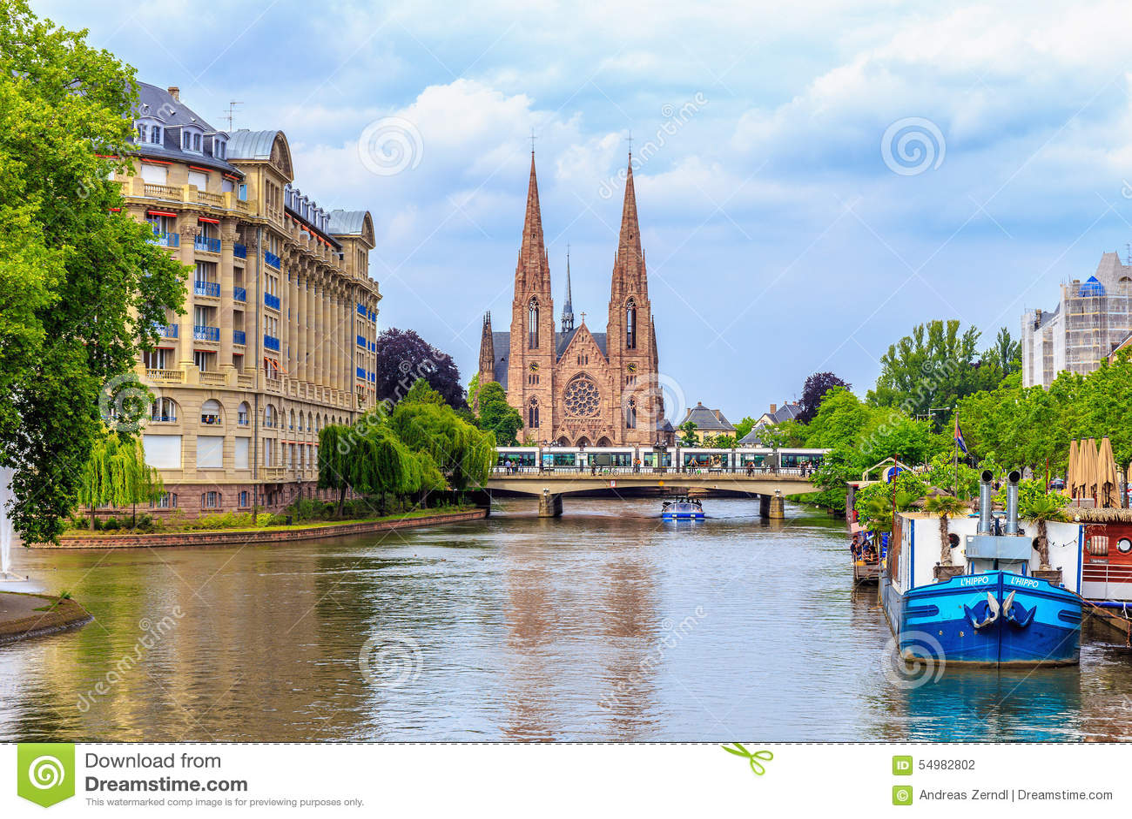 Страсбург протестантской церкви