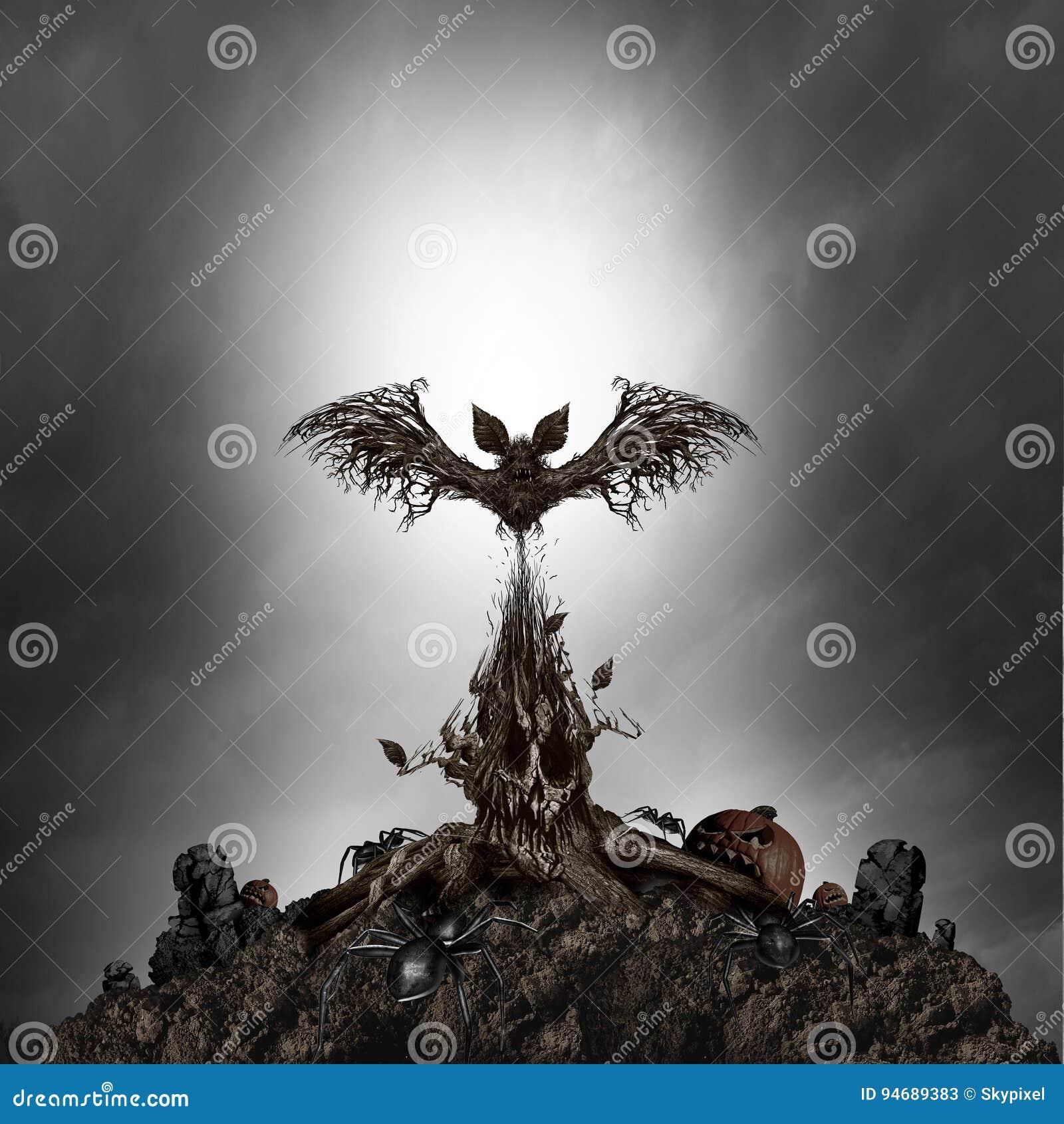 Страшный изверг дерева