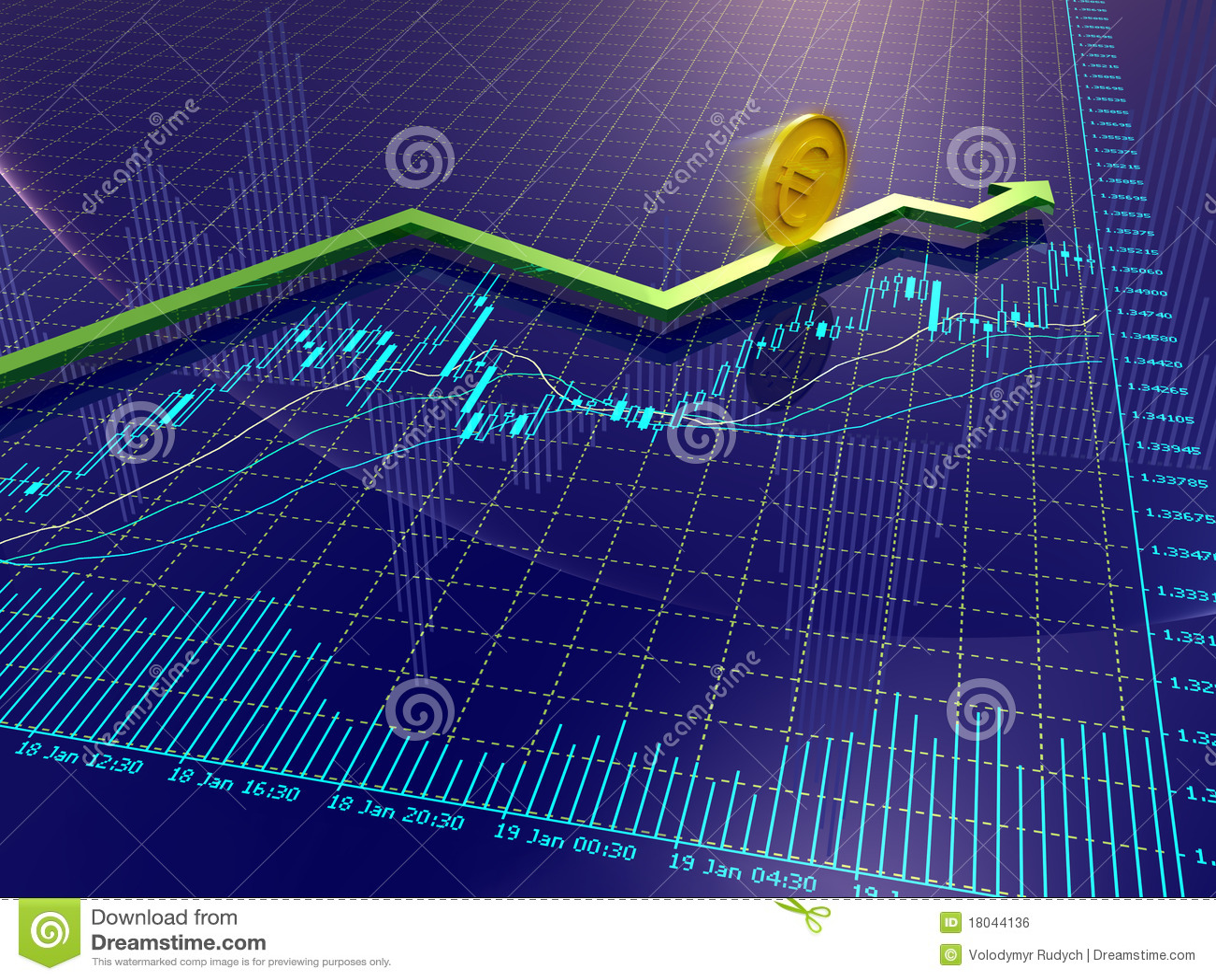 стрелка составляет схему валютам евро монетки