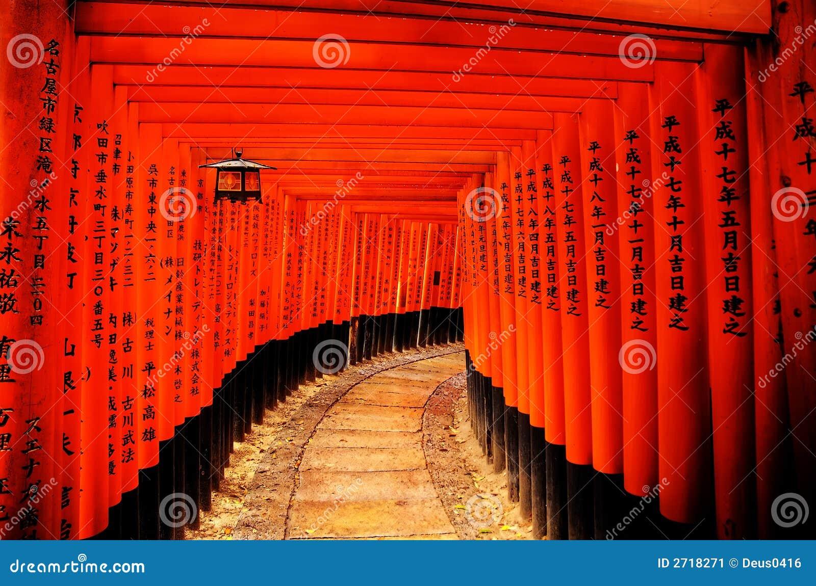 стробирует torii японии