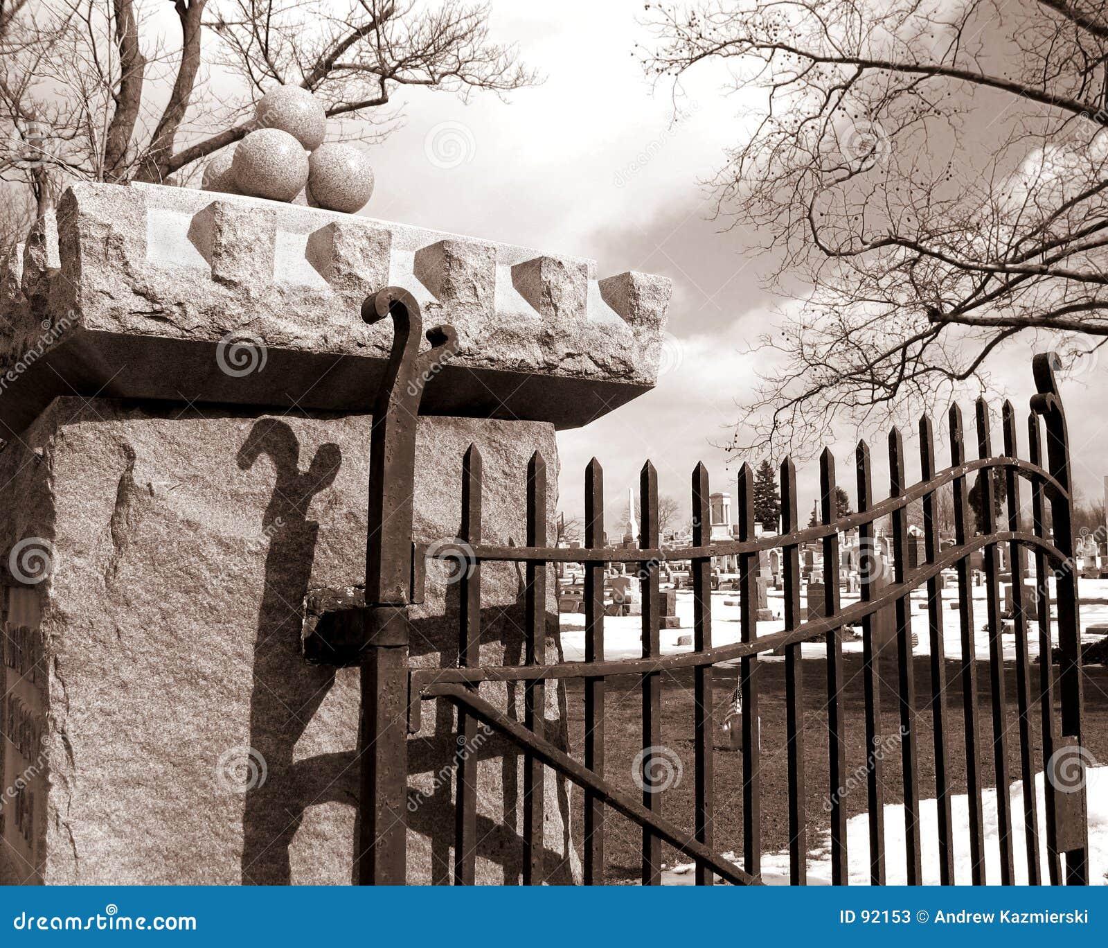 стробы кладбища