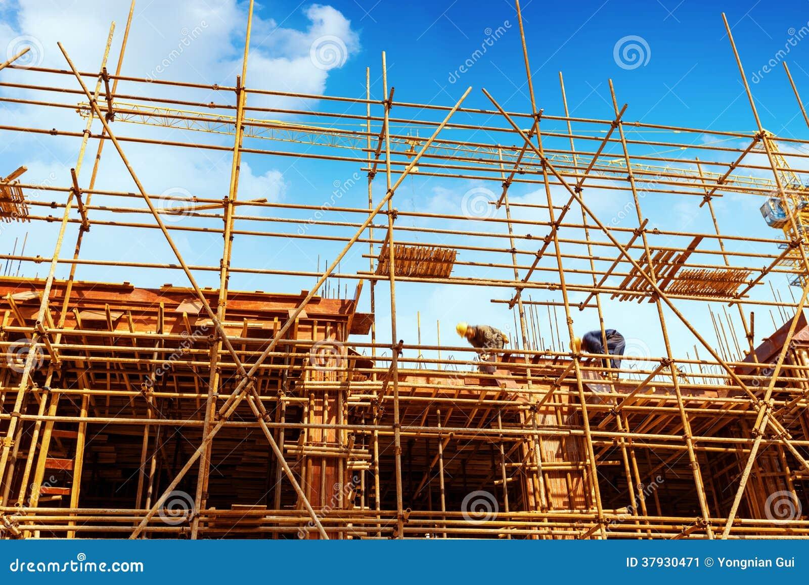 Строительная площадка для новых кондоминиумов