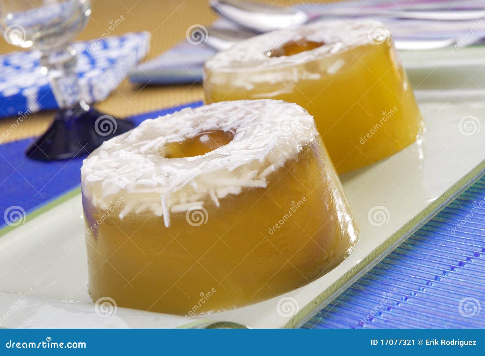 студень десерта кокоса