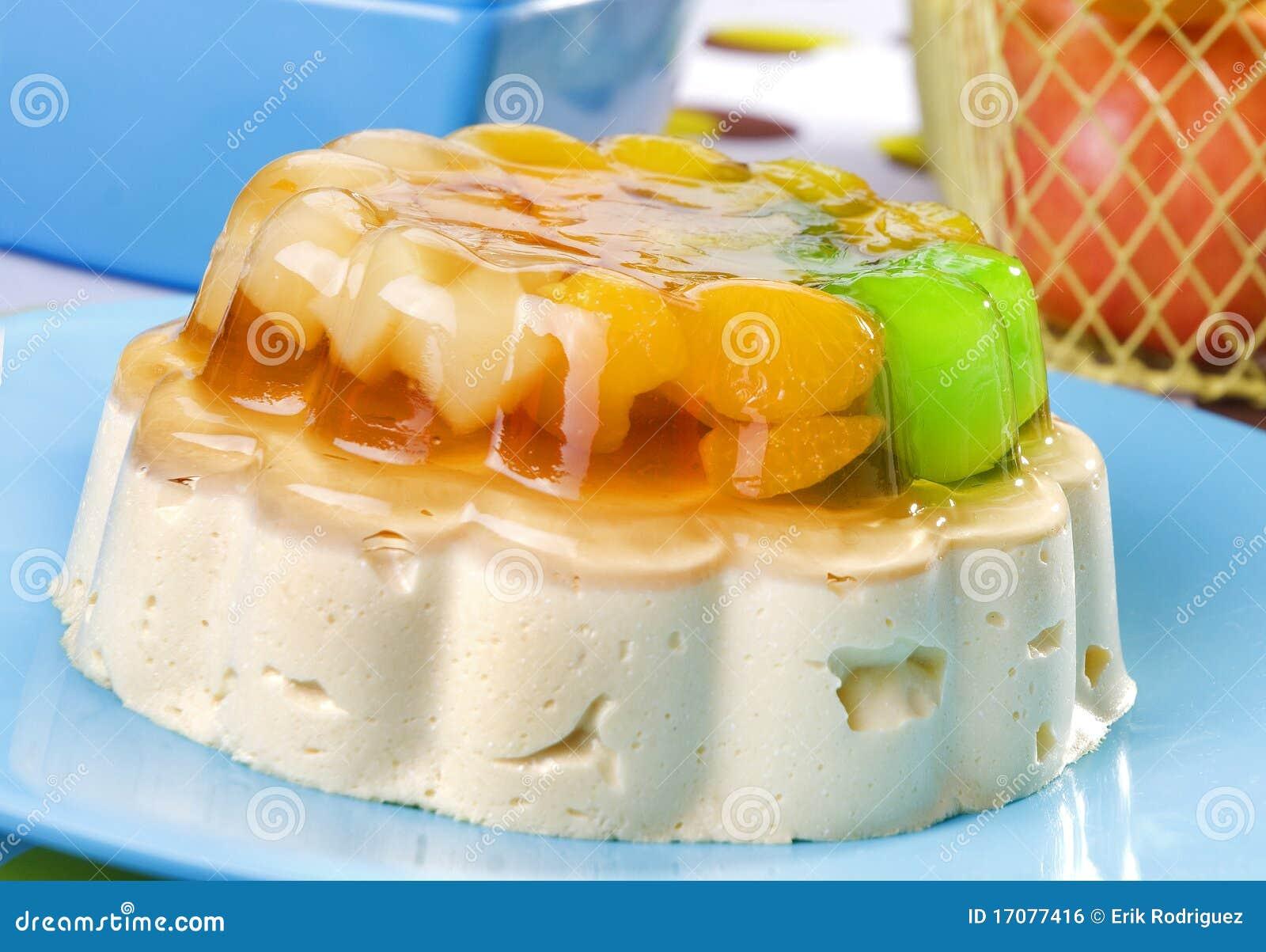 студень плодоовощ десерта