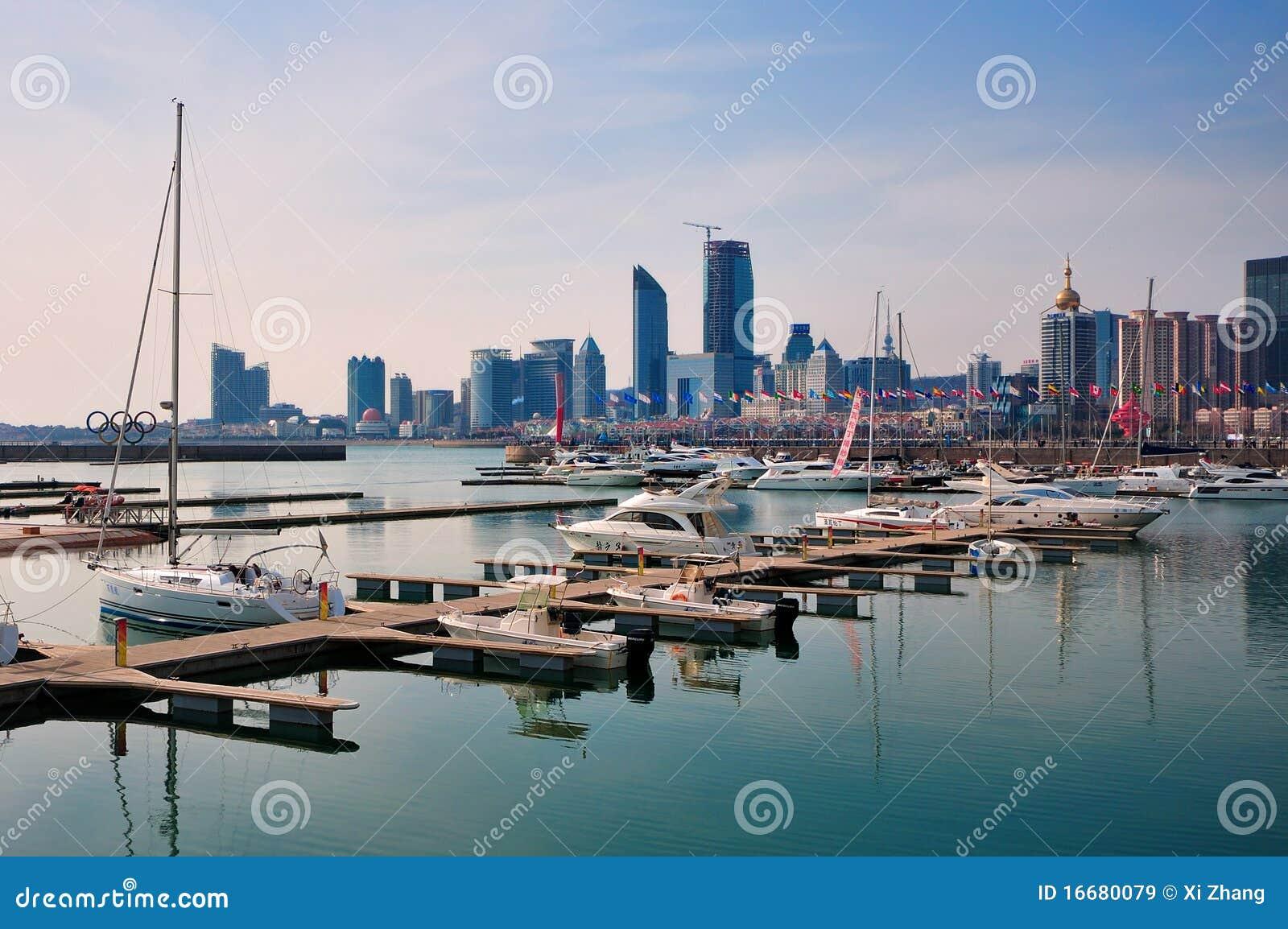 Стыковки яхт, Qingdao