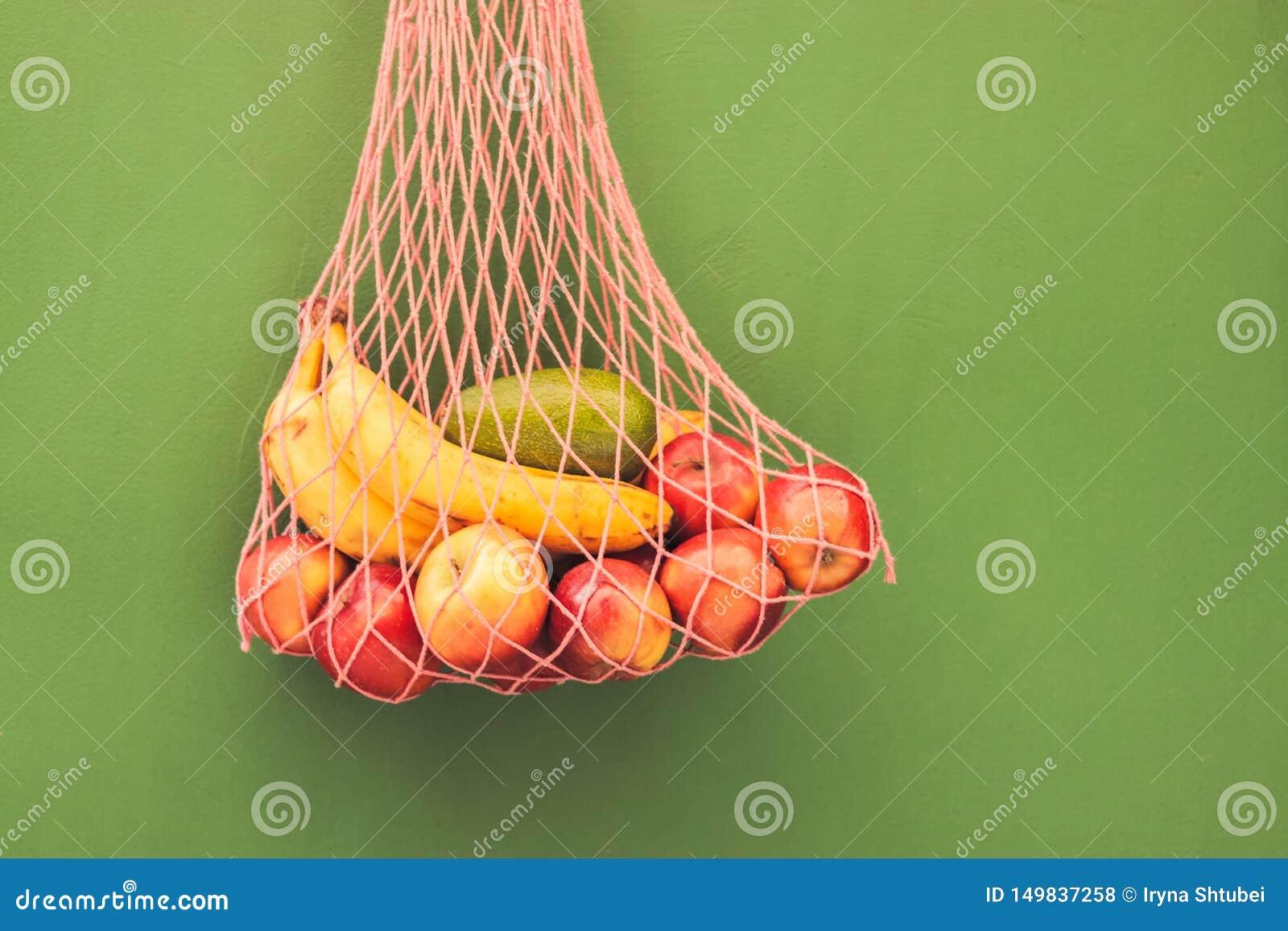 Сумка сетки плодов