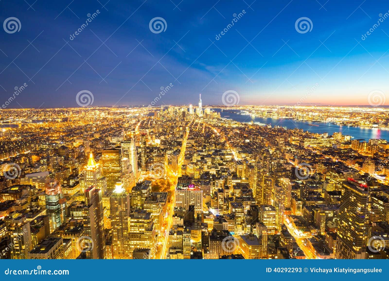 Сумрак горизонта Нью-Йорка