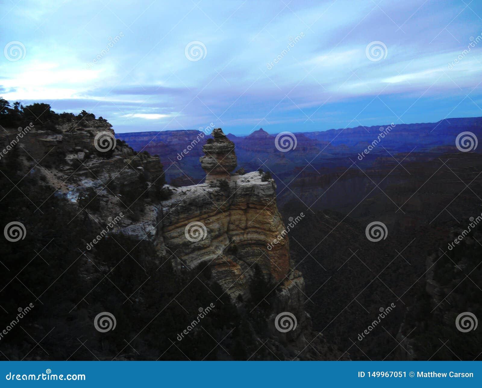 Сумрак на гранд-каньоне 001