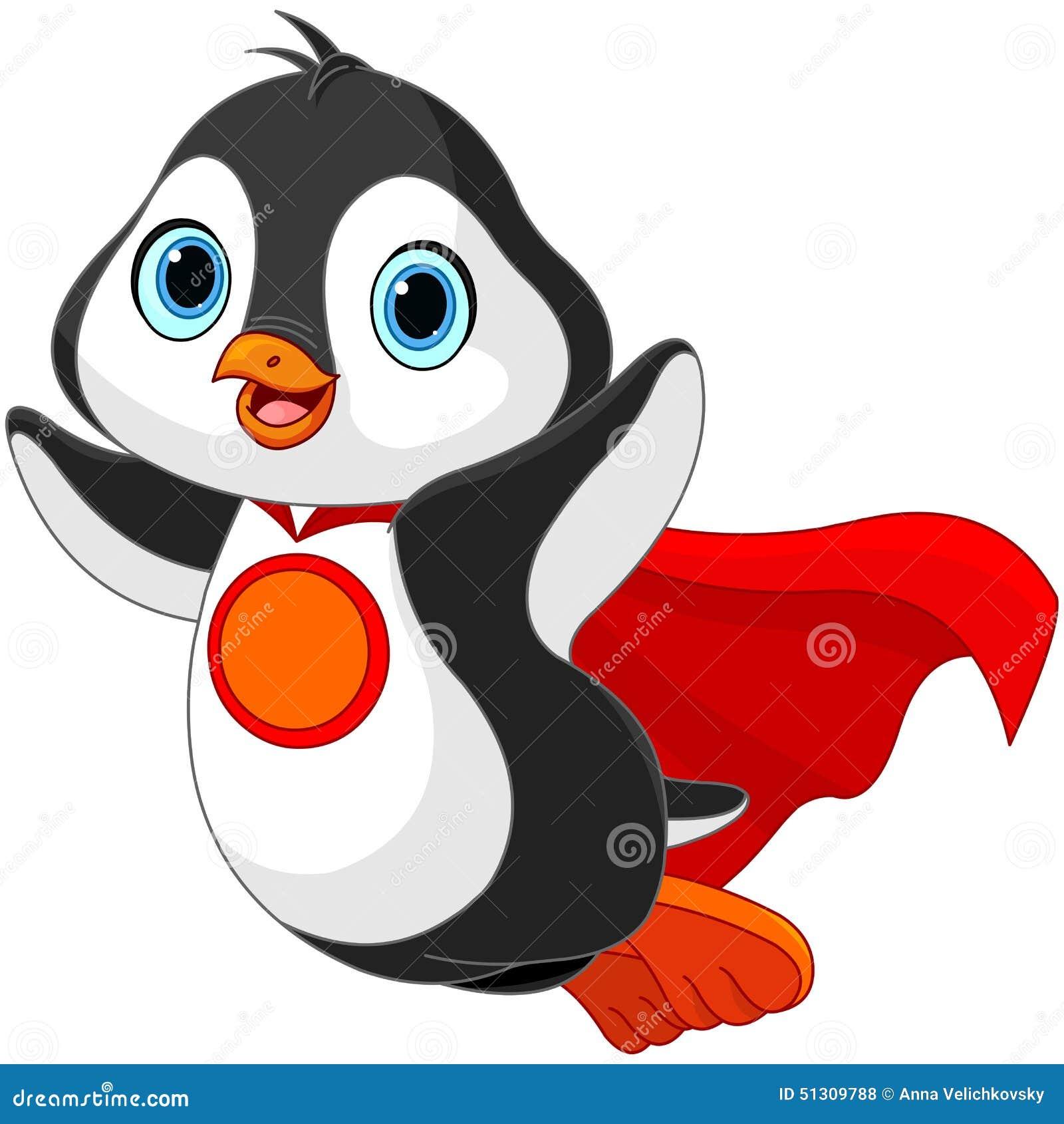 Супер пингвин