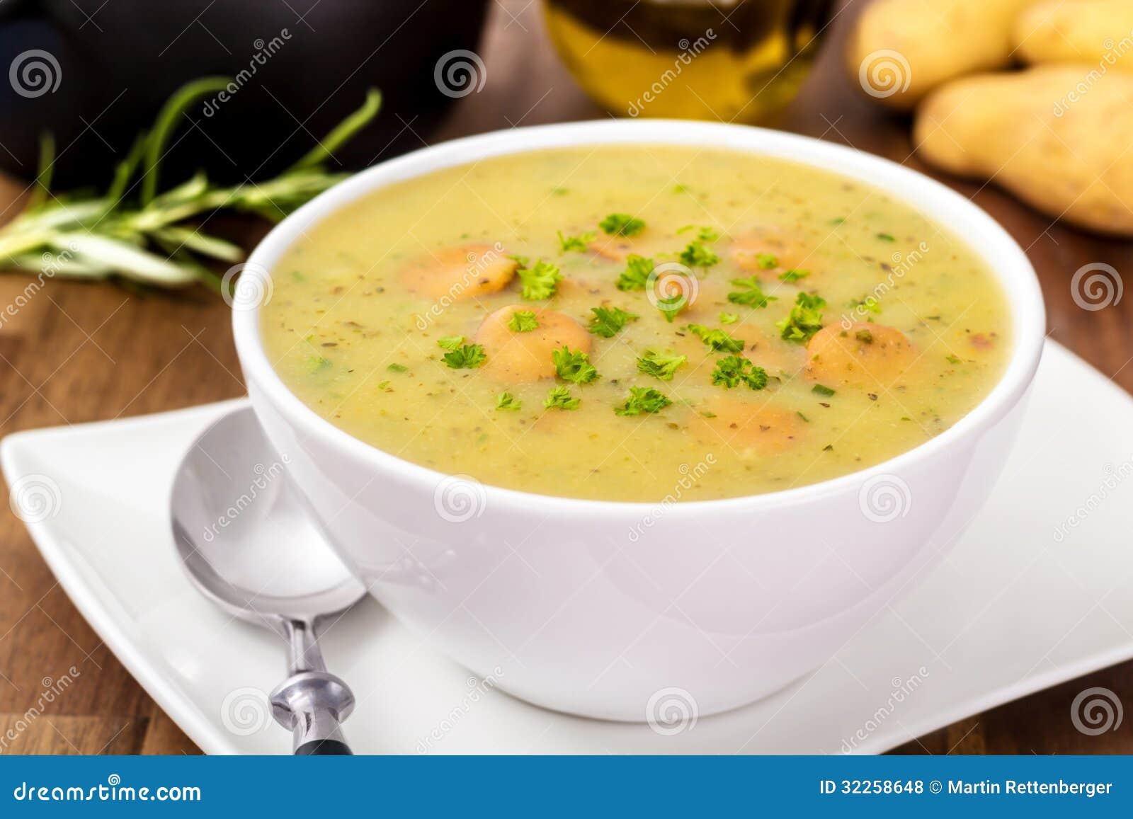Суп картошки