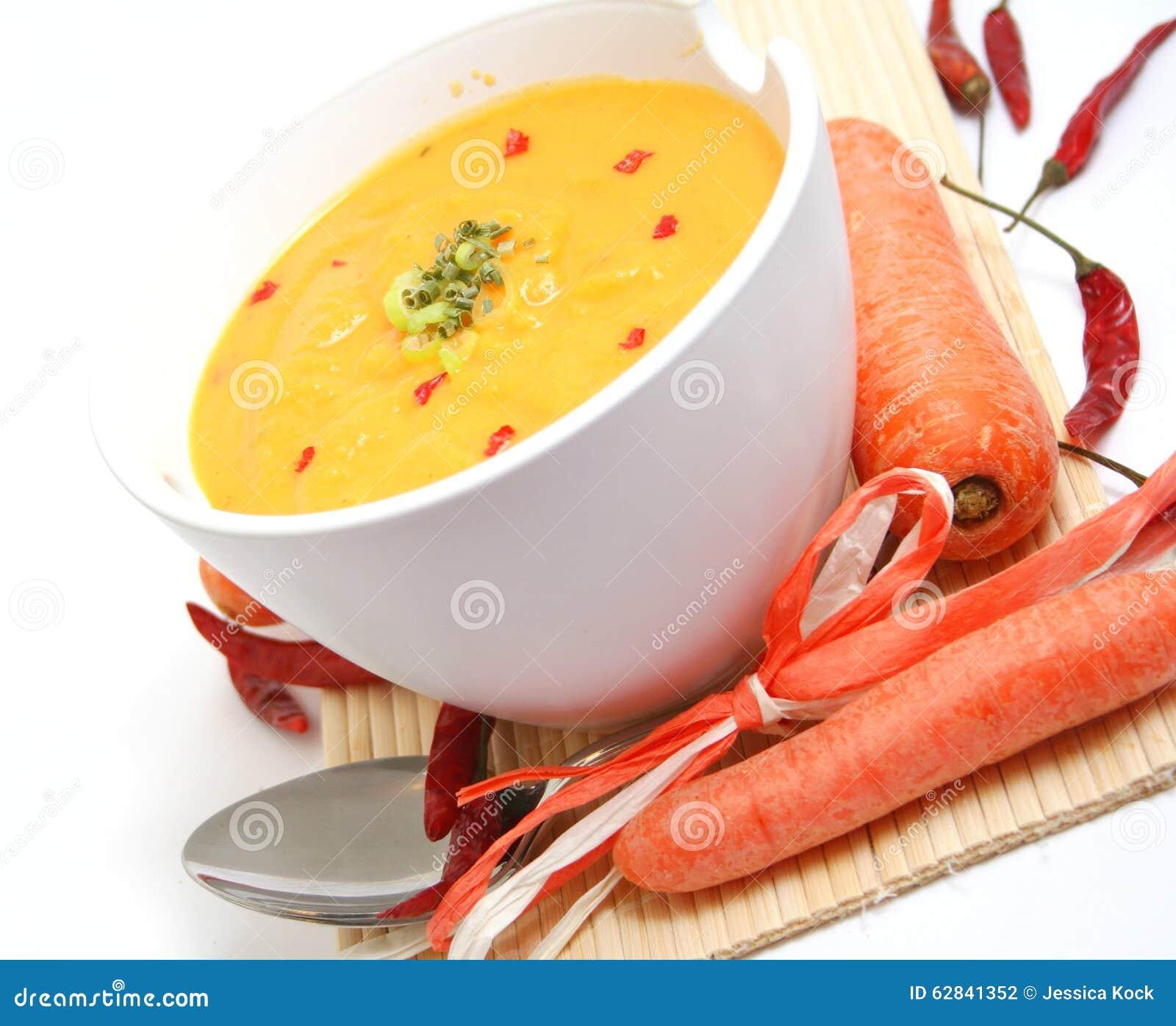 Суп морковей