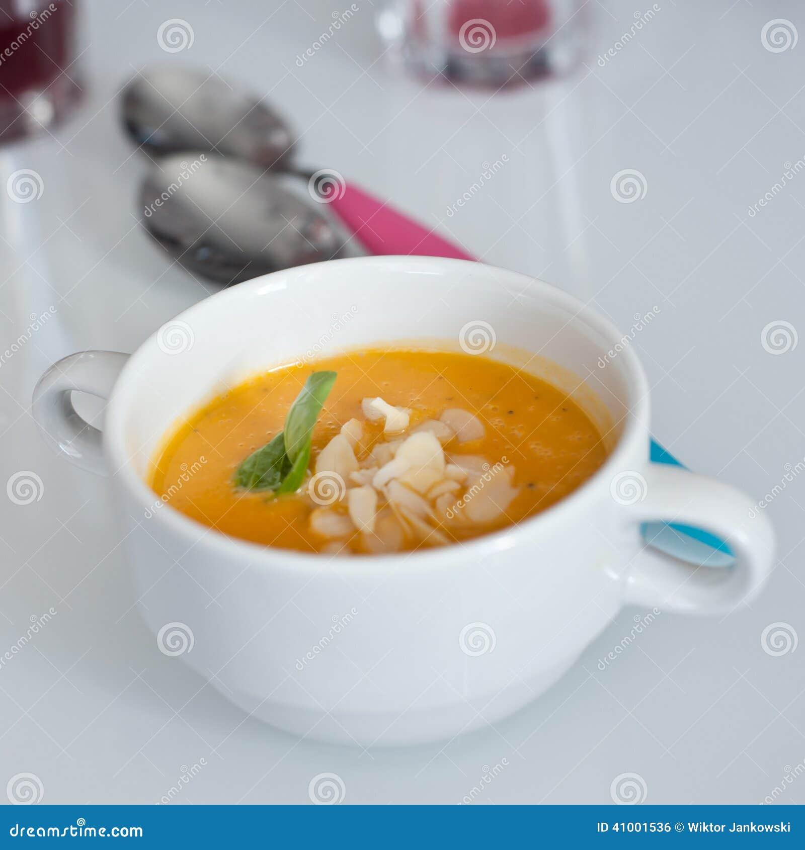 Суп моркови