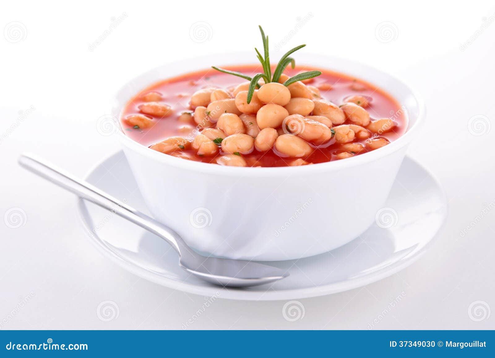 Суп фасоли