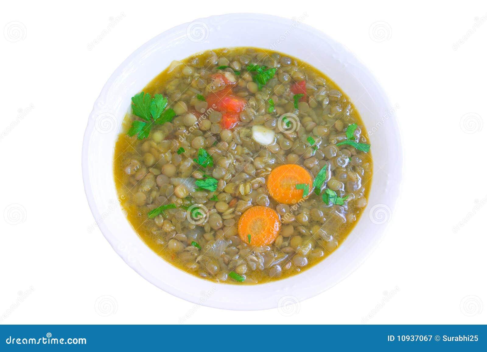 суп чечевицы