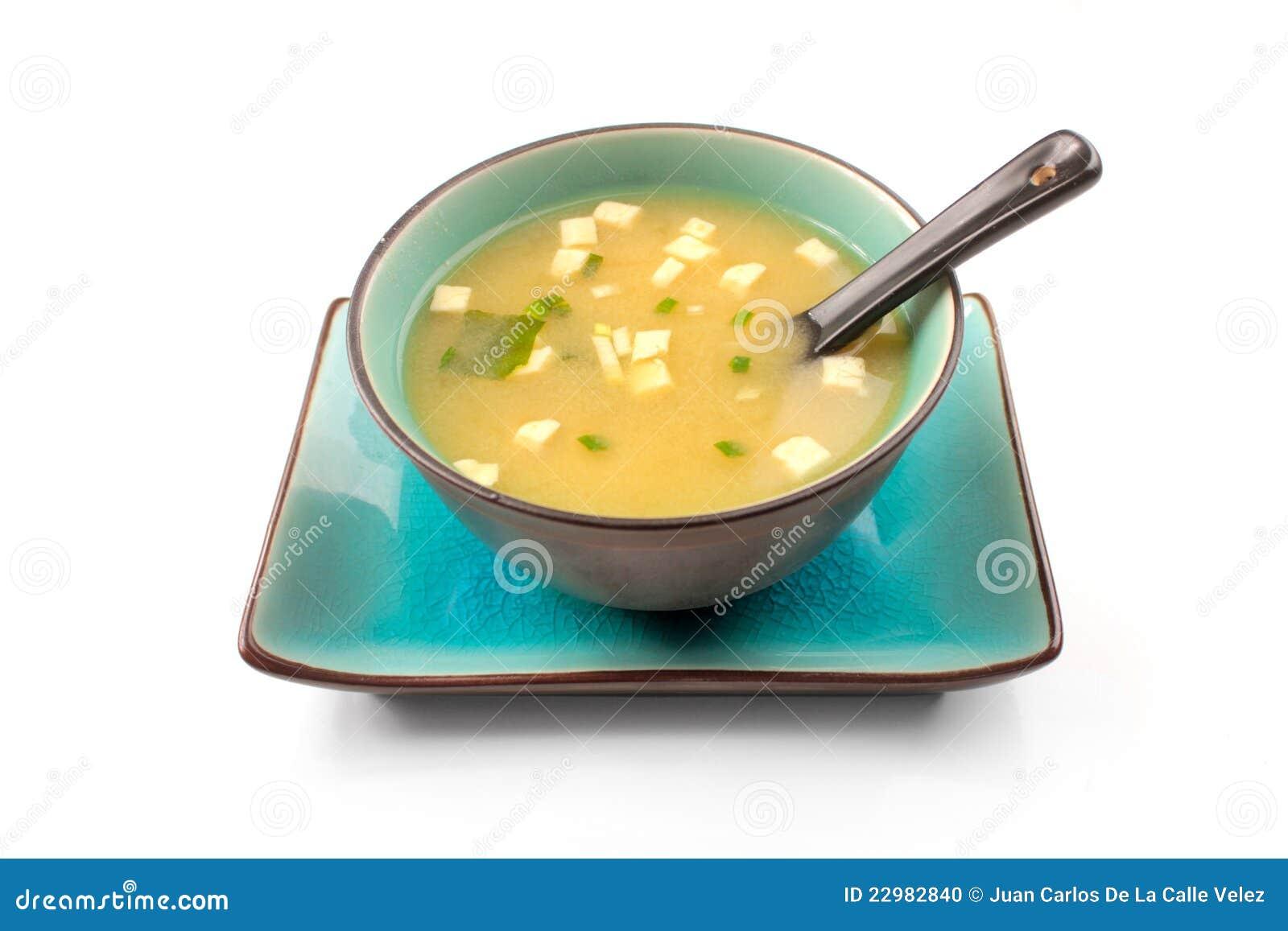 суп miso