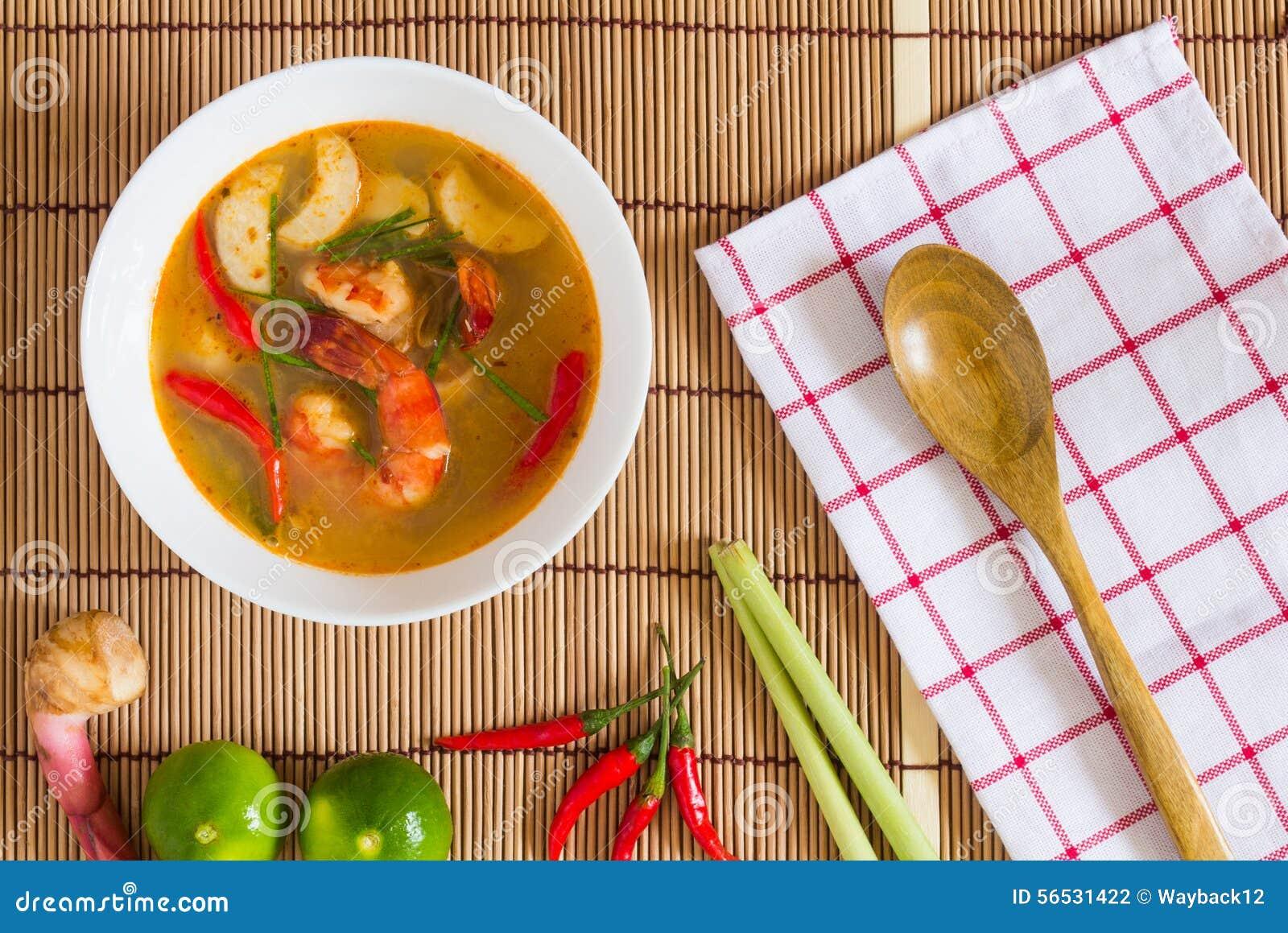 Суп Tom Yum