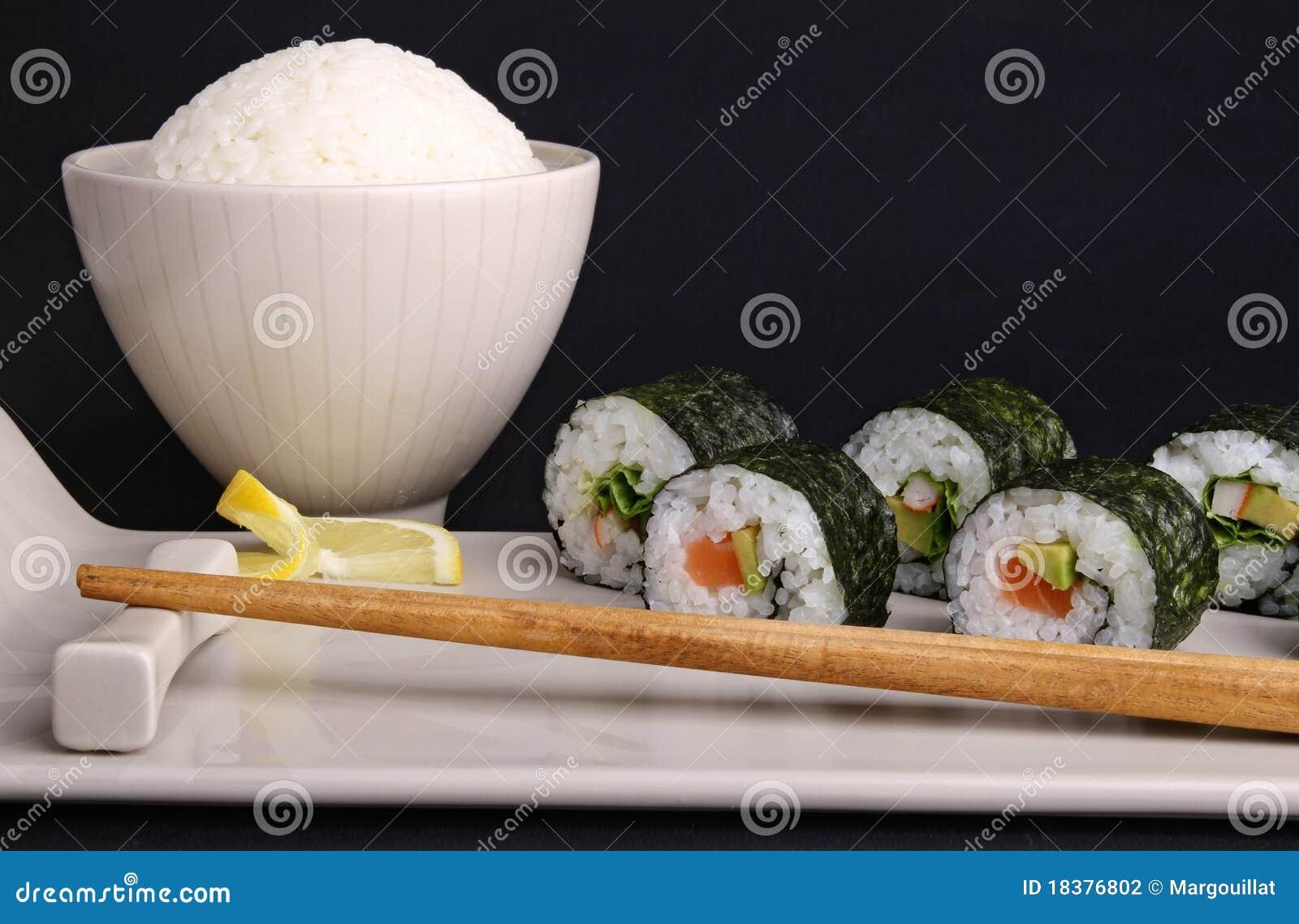 суши крена риса maki