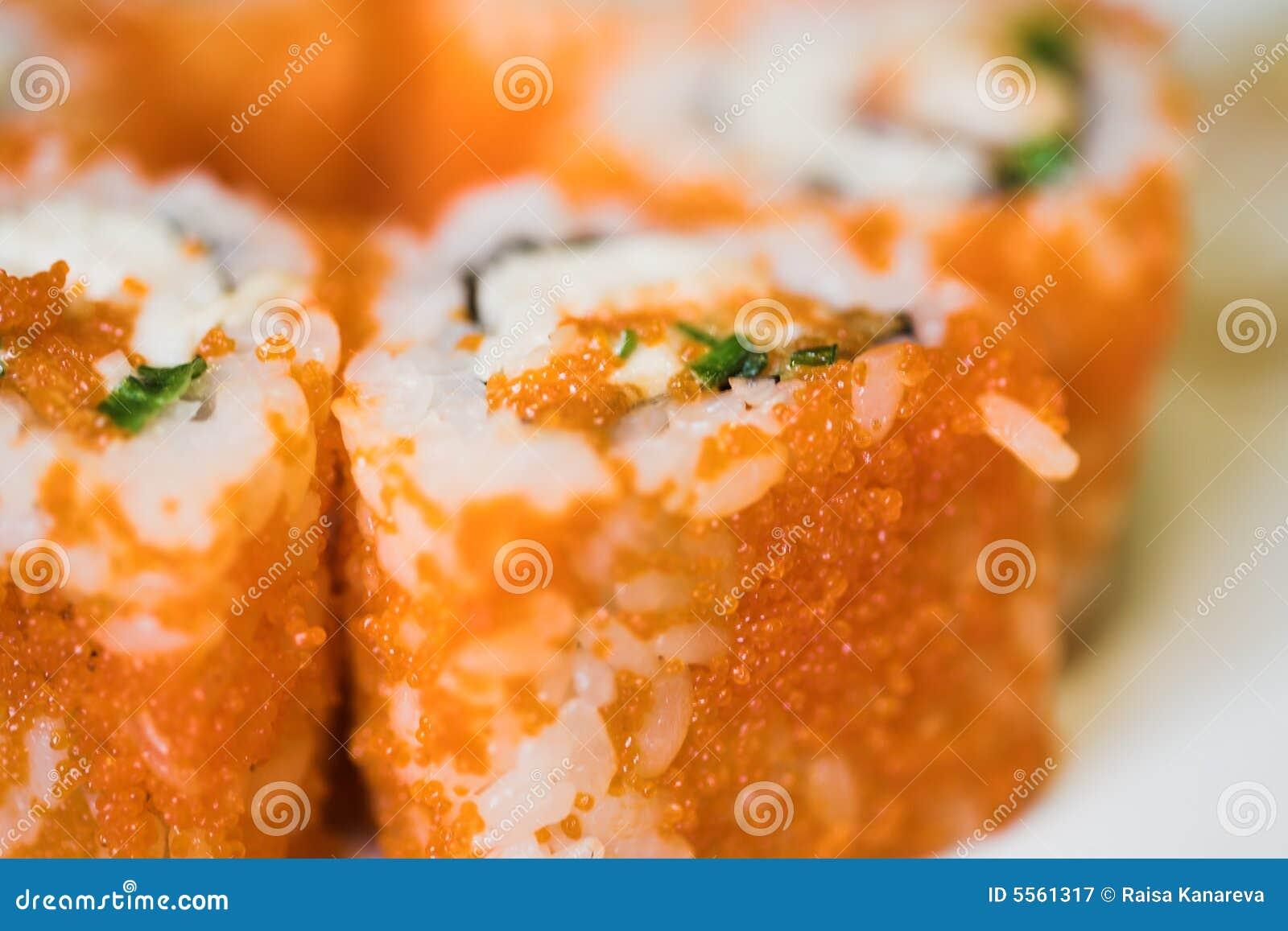 суши японца еды