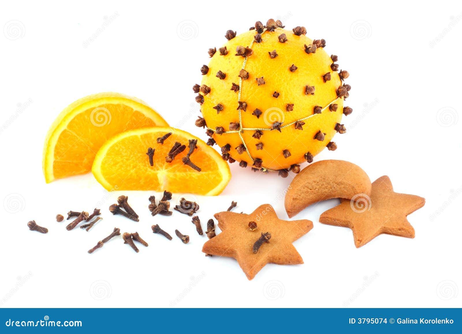 сформируйте звезды pomander gingerbreads
