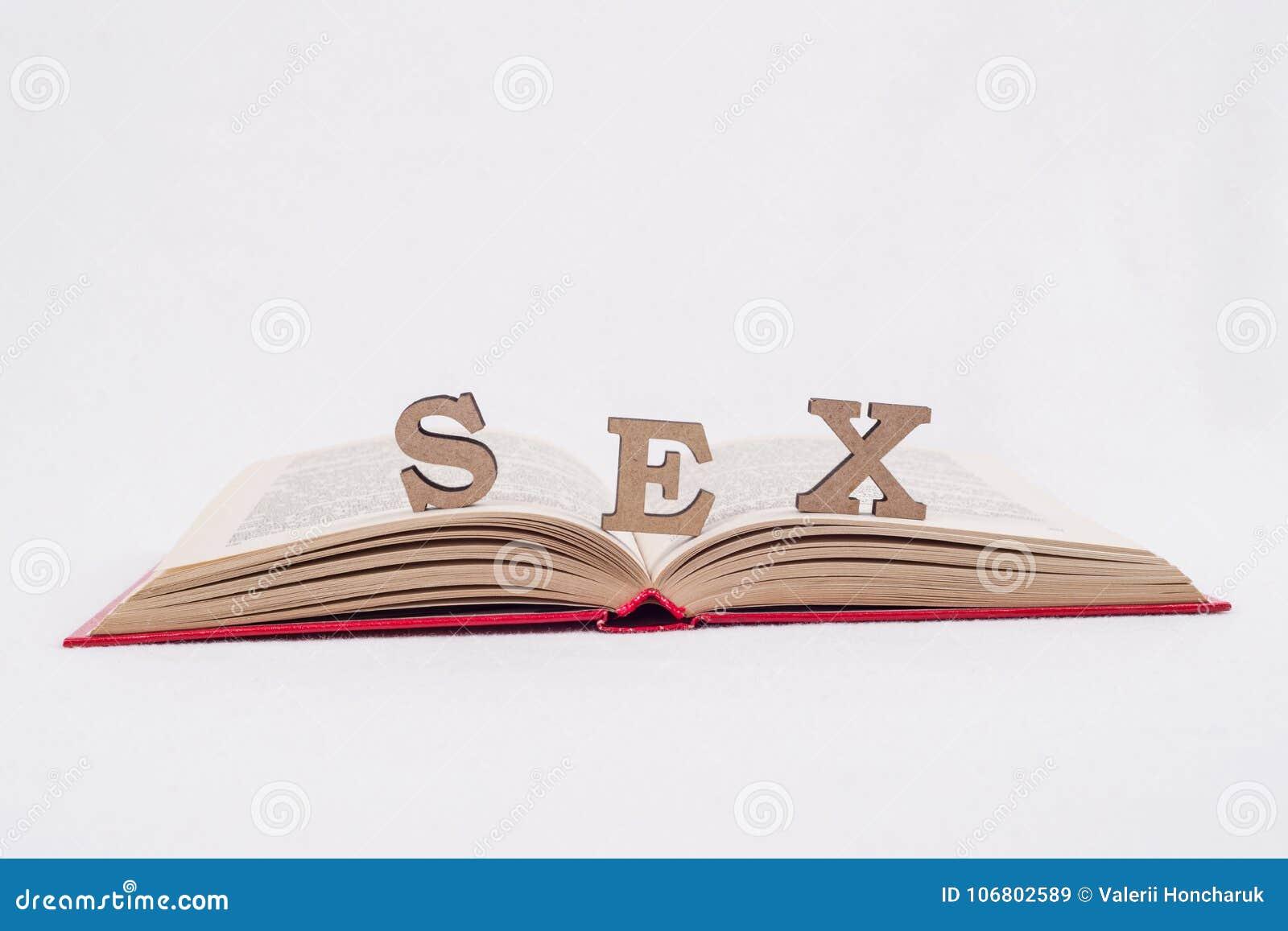 Сформулируйте письма секса, книгу белой предпосылки открытую