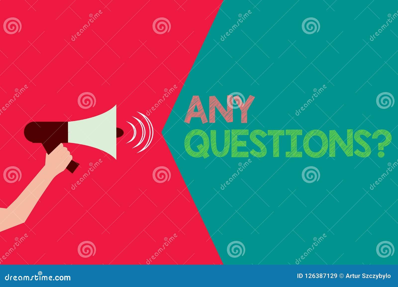 Схематическое сочинительство руки показывая любой вопрос о вопросов Текст фото дела прося пояснение расспрашивания дознания