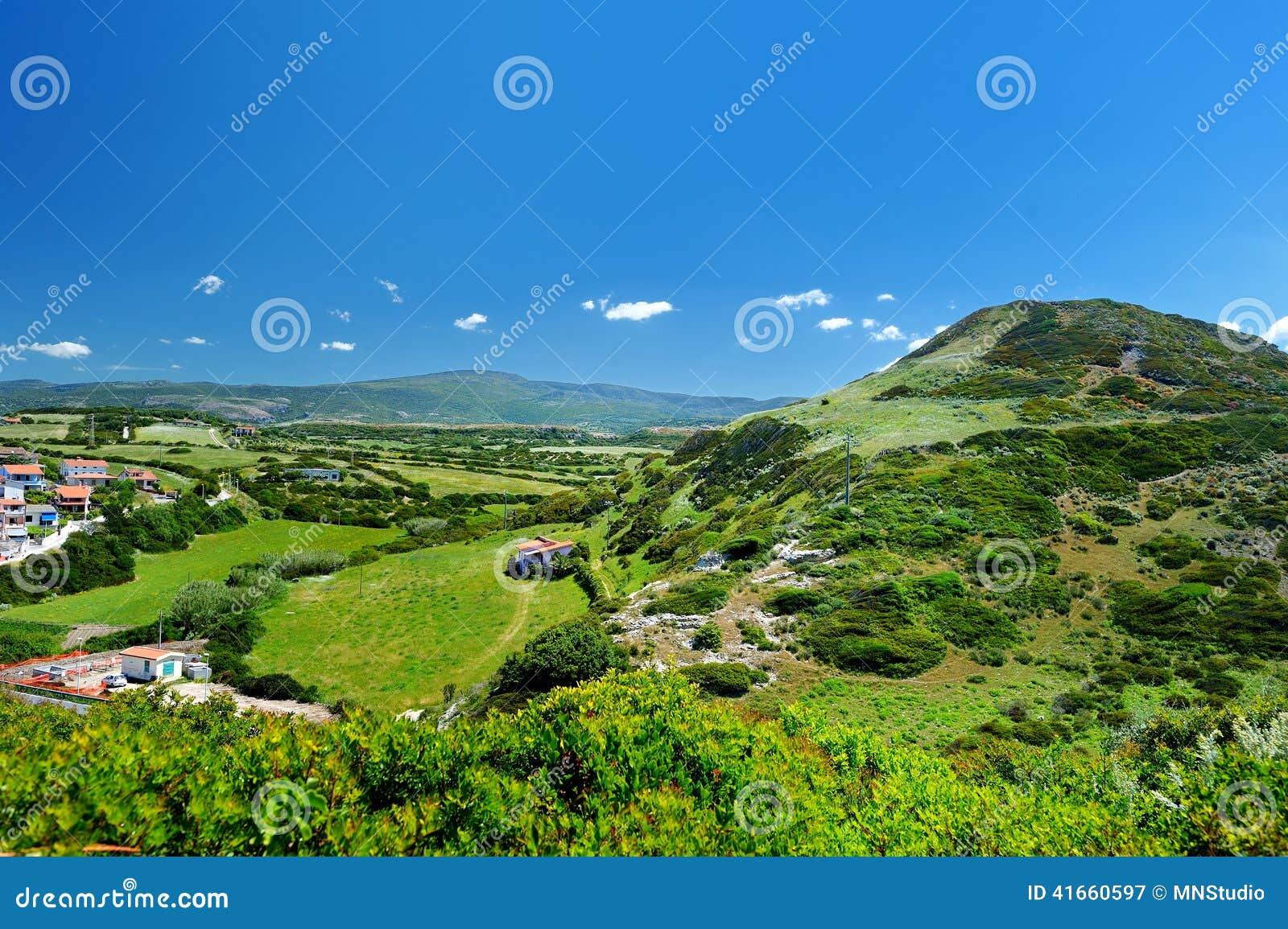Сценарный ландшафт гор